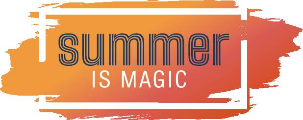 Zomergeschenk - Summer is Magic Logo