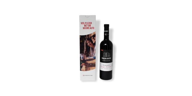 wijn in cadeauverpakking